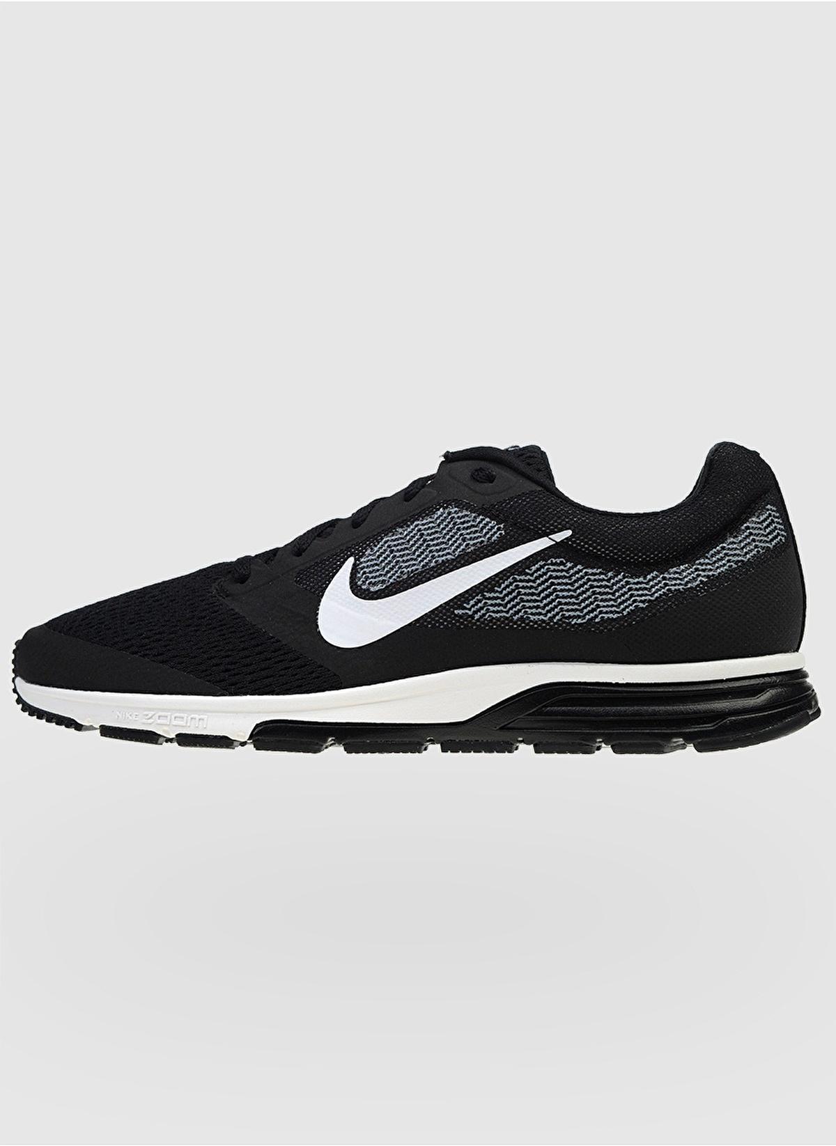 9f893a9fe53e1 Nike Erkek Nike Air Zoom Fly 2 Black White-Cool Blue